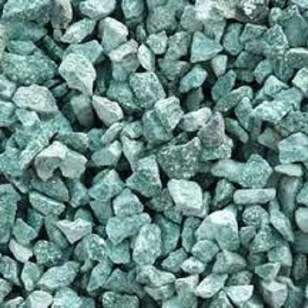 green granite chips