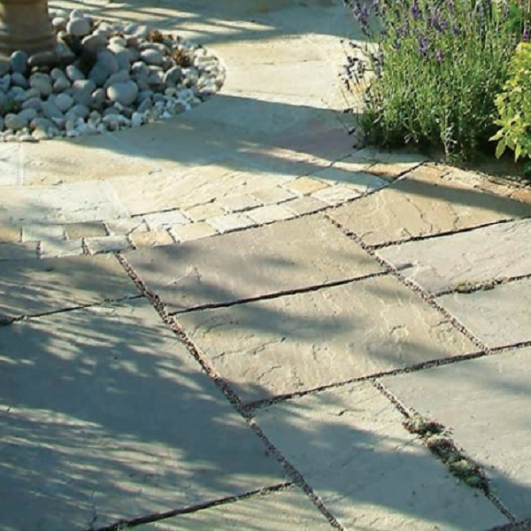 Sandstone paving - Raj Green
