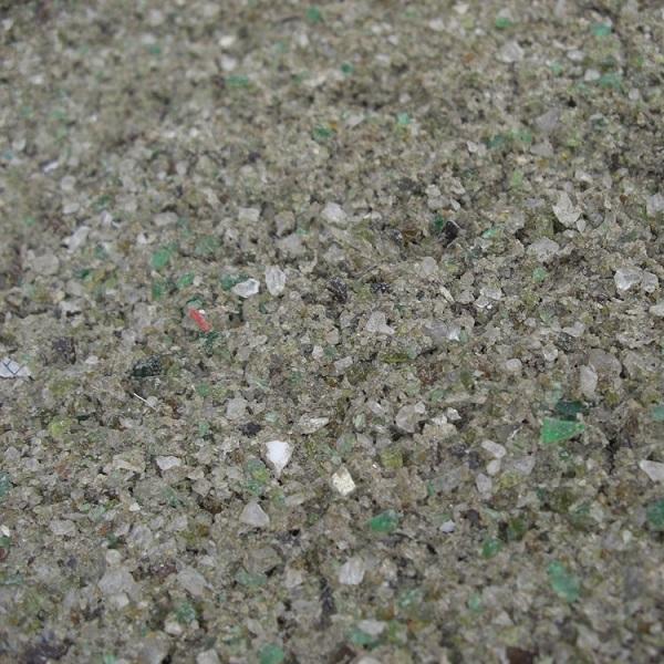 eco glass sand