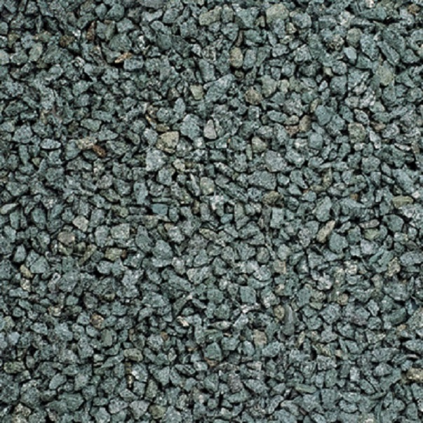 green granite gravel