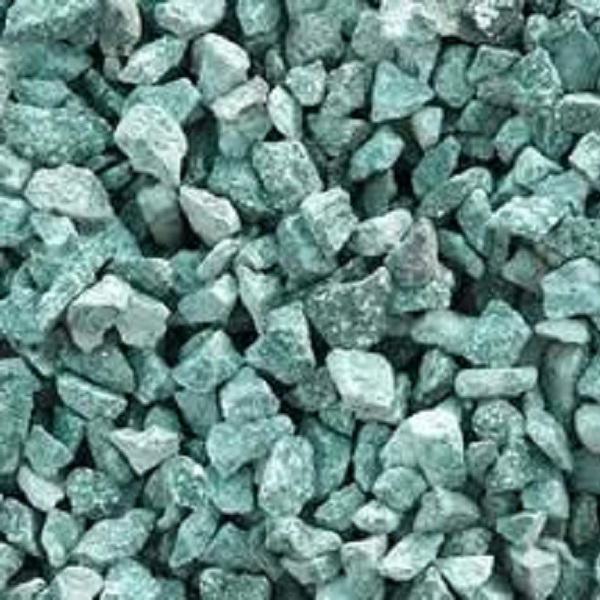 green granite chips